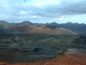 Природа Лансароте вулканы