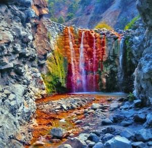 Ла Пальма водопады