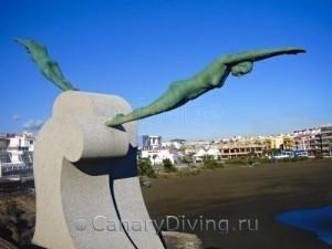Monumento a las Nadadoras Gran Canaria Гран Канария